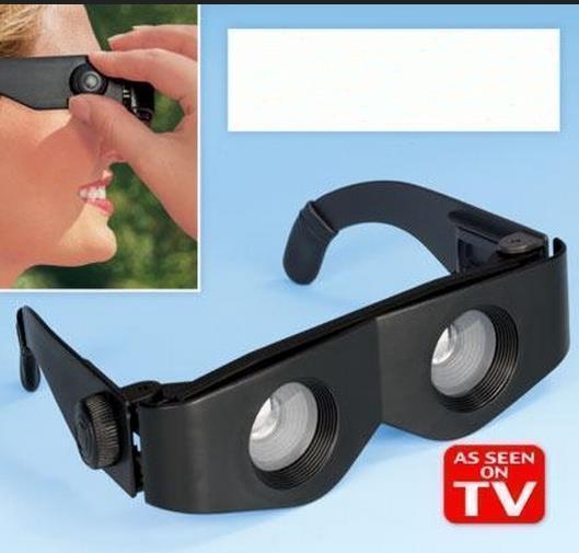 100 pcs/lots 300times Zoomies binocular glasses Telescope Sunglasses(China (Mainland))