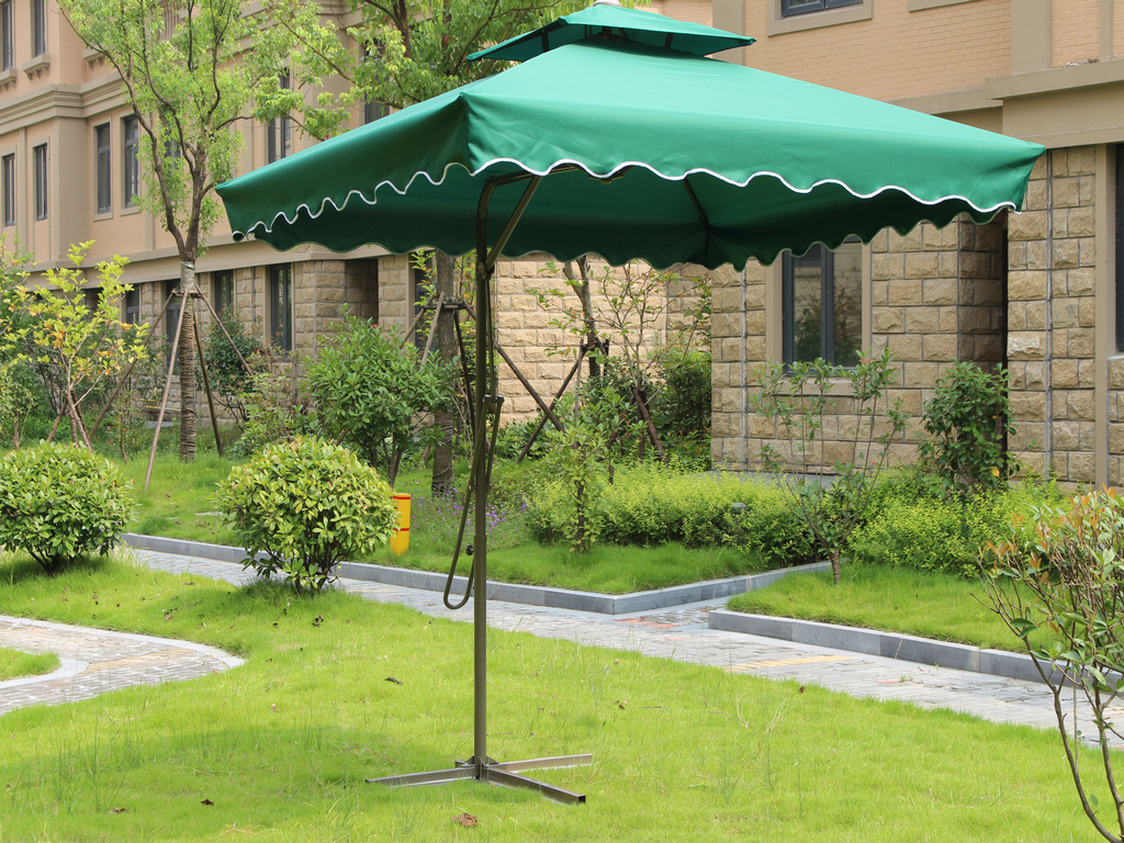 Outdoor parasol umbrella hanging wrench double top sun patio booth tent<br><br>Aliexpress