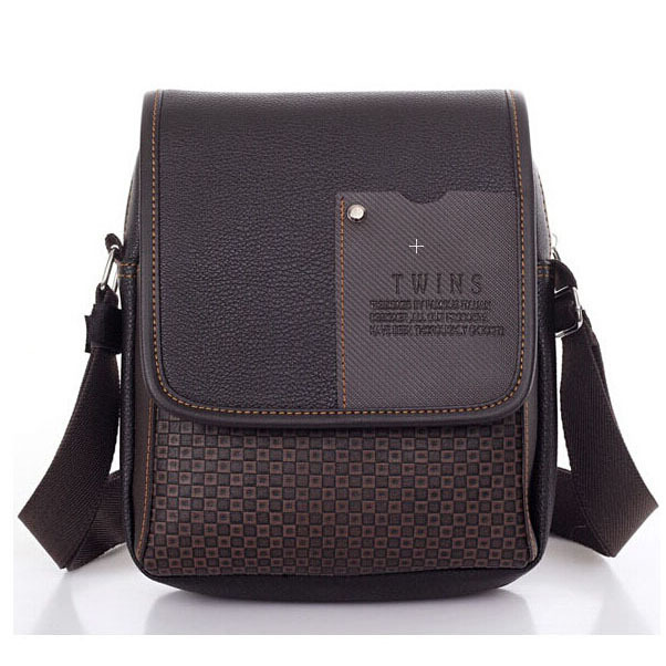 Lowest price 2015 New hot sale PU Leather Men Bag Fashion Men Messenger Bag small Business crossbody shoulder Bags YK80-449(China (Mainland))