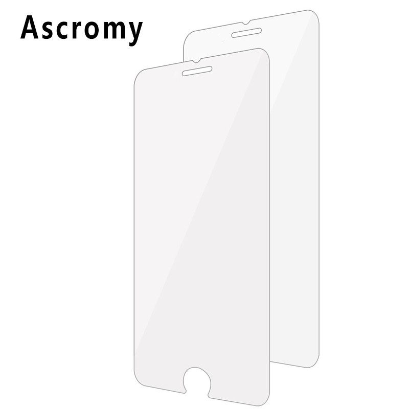 Ascromy 2PCS For iPhone 7 Plus Screen Protector Premium Tempered Glass Screen Protector for Apple iPhone 7 6S 5S ScreenProtector(China (Mainland))