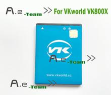 Vkworld VK800X аккумулятор 100% оригинальный высокое качество назад — 2200 мАч аккумулятор для VKworld VK800X смартфон в наличии