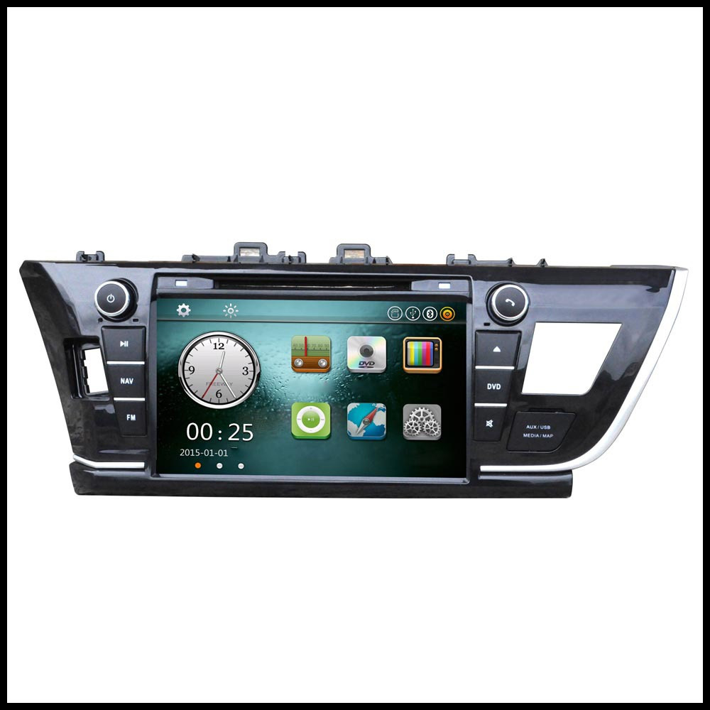 """Hot Sale 8"""" Car Radio 2 Din Car DVD Player GPS Navigation in Dash Car DVD Player PC Stereo Head Unit for 2014 Car Audio Player(China (Mainland))"""
