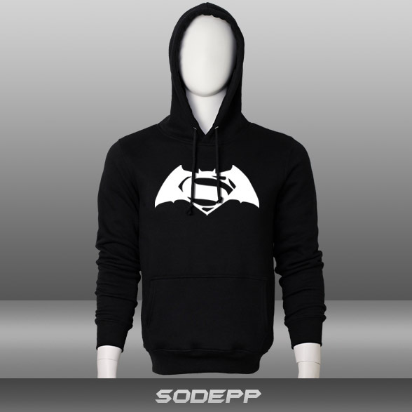 2016 new design winter leisurely Batman vs. Superman thick warm cotton Hoodie(China (Mainland))