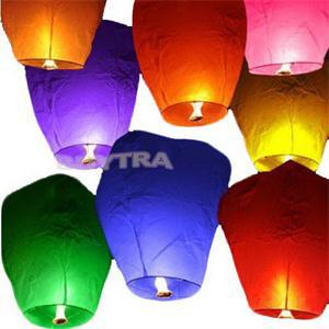 2014 New Chinese Style Sky Lanterns Balloons Classic Toys for Wedding Party(China (Mainland))