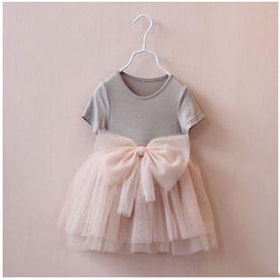 baby girls summer dress girl short Sleeve princess clothes children casual clothes baby Kids cute dresses(China (Mainland))