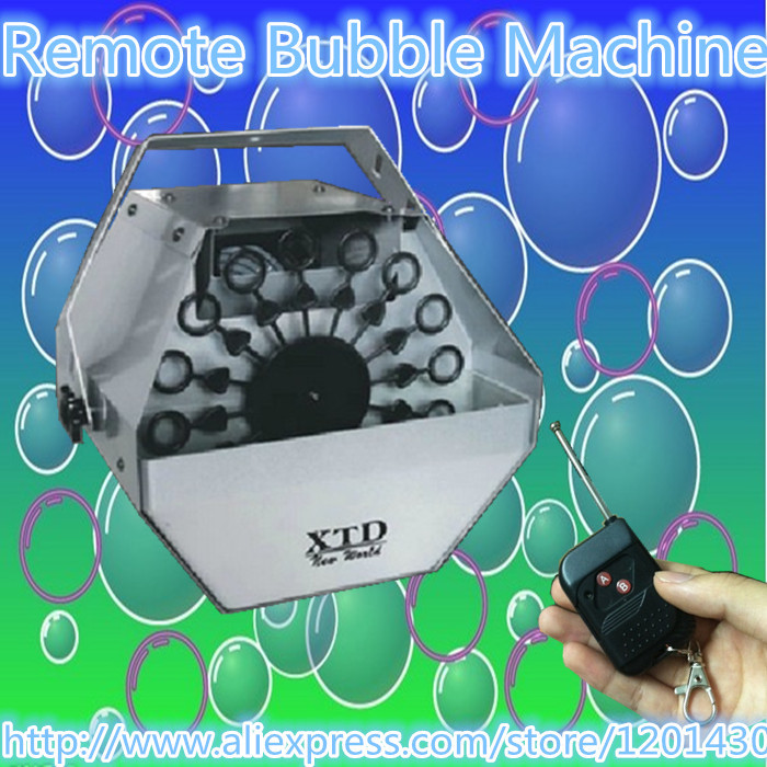 2014 hot Mini remote Bubble Maker wedding  stage lighting stage effects bubble machines DJ equipment <br><br>Aliexpress