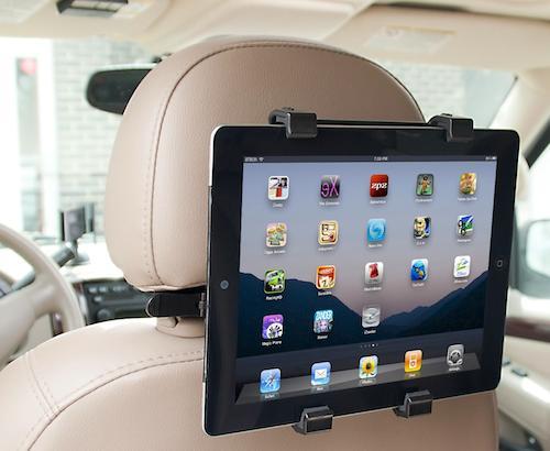 "New Adjustable Car Seat Headrest Universal Holder Stand Mount Bracket Clip For ipad 8-14"" Backseat holder Tablet PC(China (Mainland))"