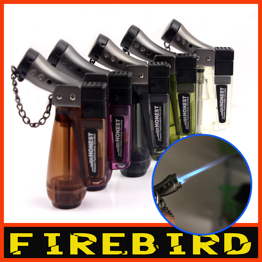 FIREBIRD 2013 Various Colors New Novelty Colorful Cigarette Cigar Gas Butane Jet Flame Windproof Lighter(China (Mainland))