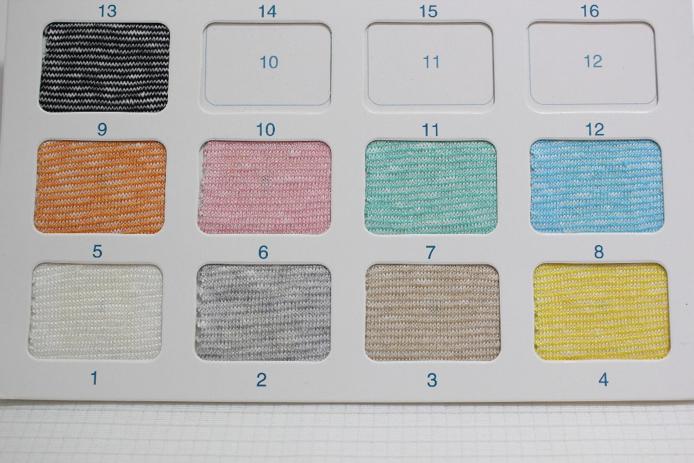 Wholesale Factory direct sales Jersey Linen Rayon Knitted Fabric H085#(China (Mainland))