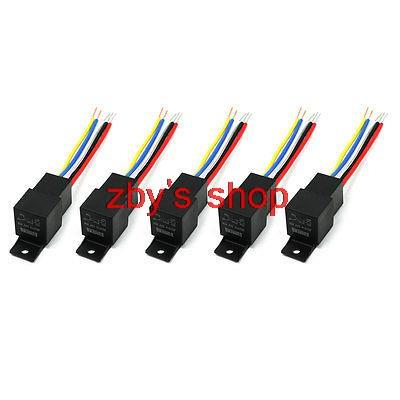 DC 24V Voltage 40A Insulation Housing 1NO+1NC SPDT Car Power Relay JD2914 5 Pcs<br><br>Aliexpress