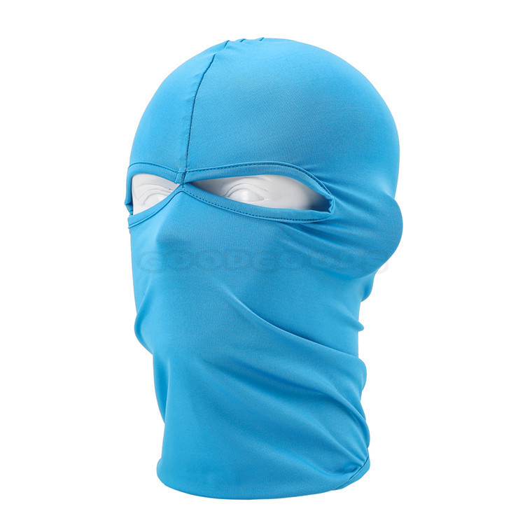 New Outdoor Sport Full Face Mask SWAT 2 Holes Head Bicycles Motorcycles Warmer Mask Halloween CS Airsoft Cap Hat Full Face Mask(China (Mainland))
