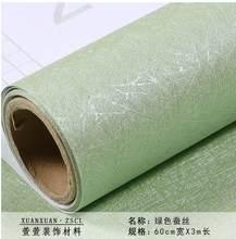 Самоклеющиеся обои водонепроницаемые чисто серые спальни Гостиная льняные обои толстые наклейки на стену ремонт мебели-46(China)