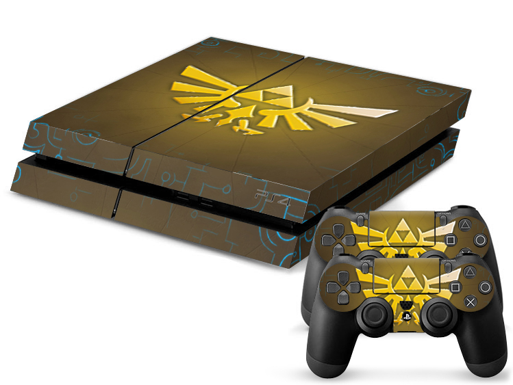 1set new arrival hot sale skin stickers for sony playstation 4 ps4 console 2 pcs - Playstation one console for sale ...