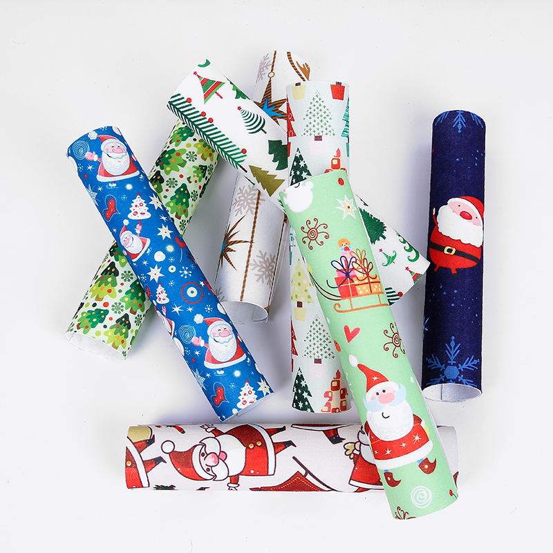 Buy 8 pcs. Give away1 pcs Printed Woven Felt Fabric Christmas Soft Polyester Felt Jewellery House For Sewing Crafts Dolls 20X30(China (Mainland))
