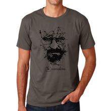 Buy Top Cotton heisenberg funny men t shirt casual short sleeve breaking bad print mens T-shirt Fashion cool T shirt men for $5.98 in AliExpress store
