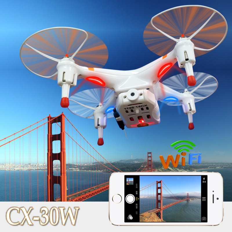 Cheerson CX 30w 4CH 2 4GHz 4 Axis Gyro FPV RC Quadcopter Helicopter Camera for iPhone