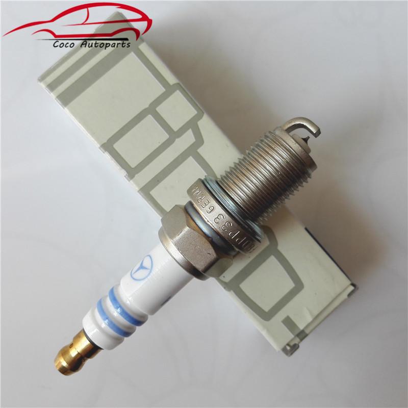 set 6 Spark Plugs For Mercedes W163 W208 W210 W211 W220 R129 w202 A004159190326 FR8DPP33<br><br>Aliexpress