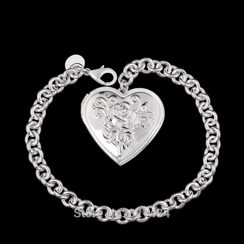 2018 wholesale mens men fashion jewelry 925 sterling silver male new fashion jewelry 925 sterling silver female bracelet bright cool bracelet bangles girl girlfriend party gift box lk347 aloadofball Image collections