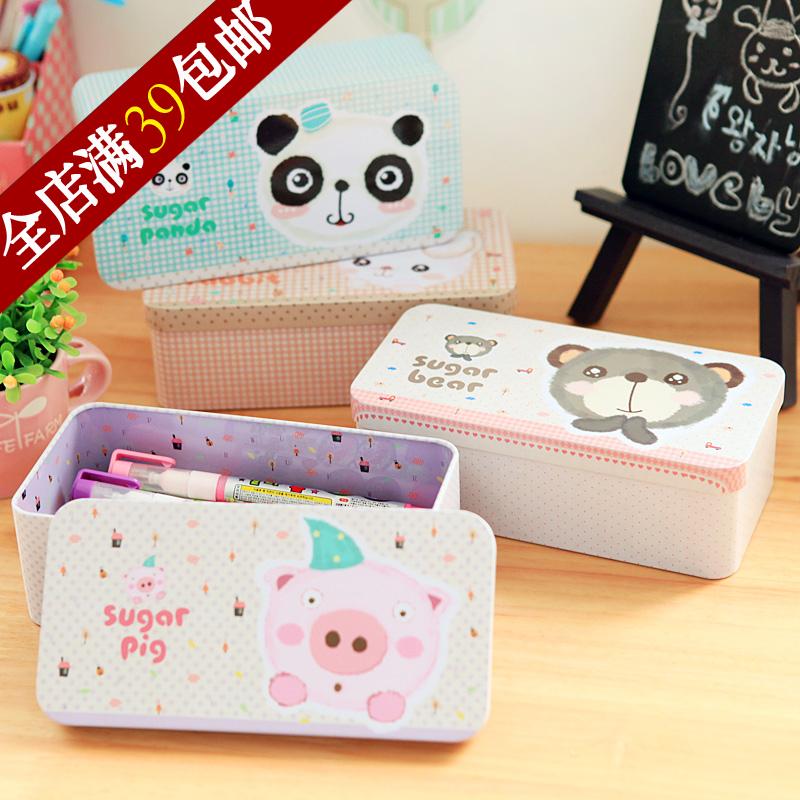 High quality product small animal high quality tin box storage box jewelry box gift packaging box(China (Mainland))