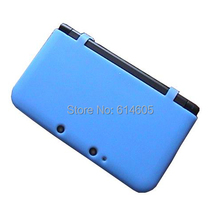 Blue Crystal Silicon Case Cover Skin Protector Sleeve for Nintendo 3DS LL/XL