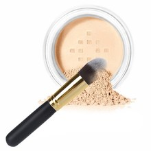 Free Shipping Hot Sale Tapered Cosmetic Brush Face Makeup Blusher Powder Foundation Tool Black GUB