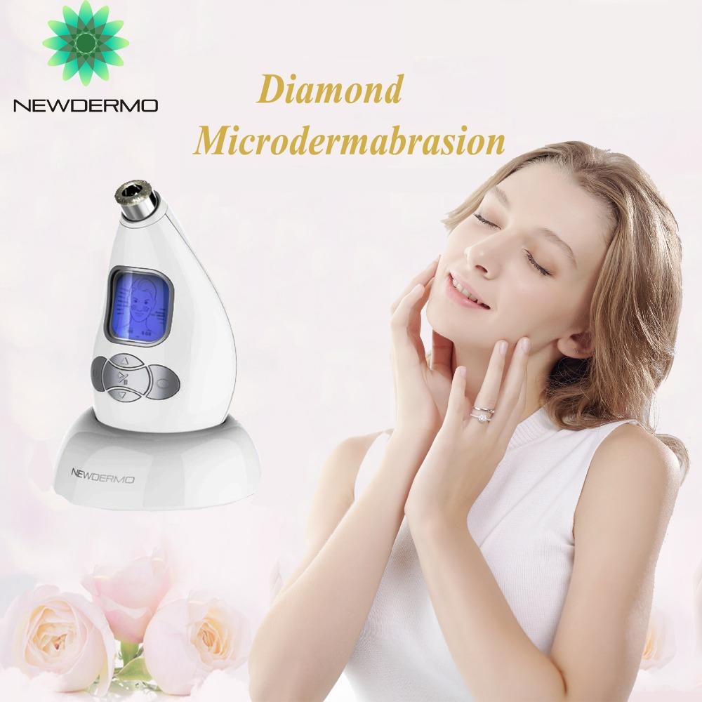 White FREE SHIPPING Hot Sale Diamond Microdermabrasion Christmas Gift Machine For Girl Friend Skin Rejuvenation Face Massage(China (Mainland))