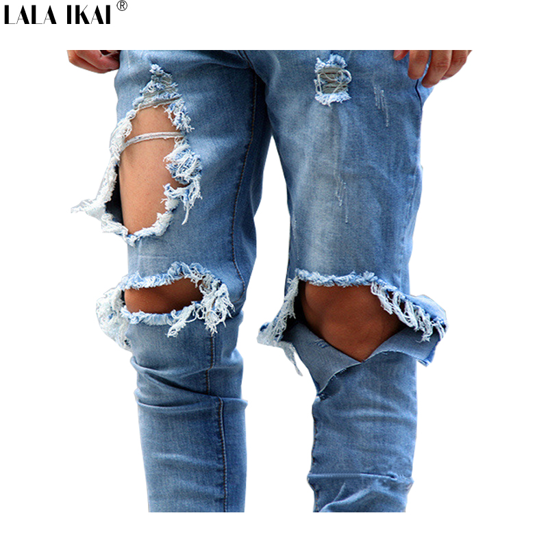 High Quality Men Ripped Jeans Zippers-Buy Cheap Men Ripped Jeans ...