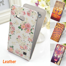 Vertical Flip Mobile Phone Up and Down Leather Case Cover for Nokia Lumia 730 735 Free Shipping(China (Mainland))