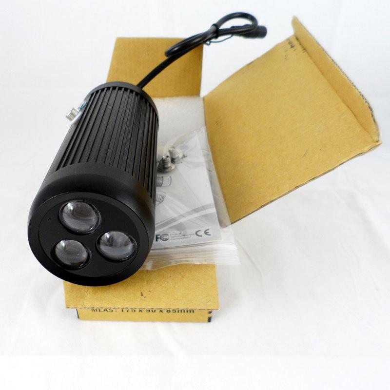 940nm IR LED Array Illuminator Lighting 3800mw 940nm Invisible For Manual Zoom Camera, 20-100m 15-70degree Manual Adjustment(China (Mainland))
