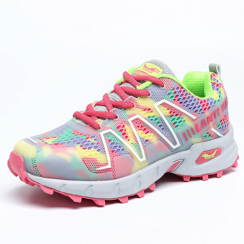 New Fashion Women Shoes 2016 Autumn & Spring Comfortable Breathable Mesh Mixed Colors Women Casual Shoes Footwear For Lady H266(China (Mainland))