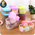 two size two grid seal pot food kitchen receive a case multi function fresh keeping box