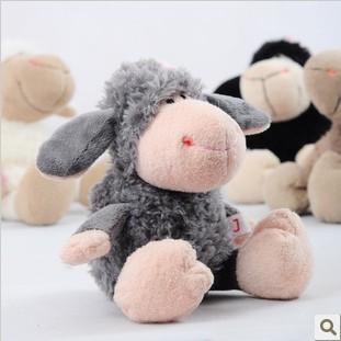 NICI animal world Big eyes plush toy wholesale Sean sheep