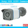 Pbfa 1200tvl Sony CCD High Resolution Security Camera Waterproof Outdoor Indoor Bullet Surveillance Cctv Camera Lens