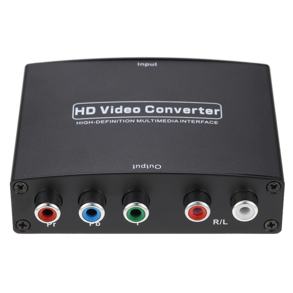 HDMI to YPbPr Component RGB HD Video/Audio Converter Support R/L Audio Output(China (Mainland))