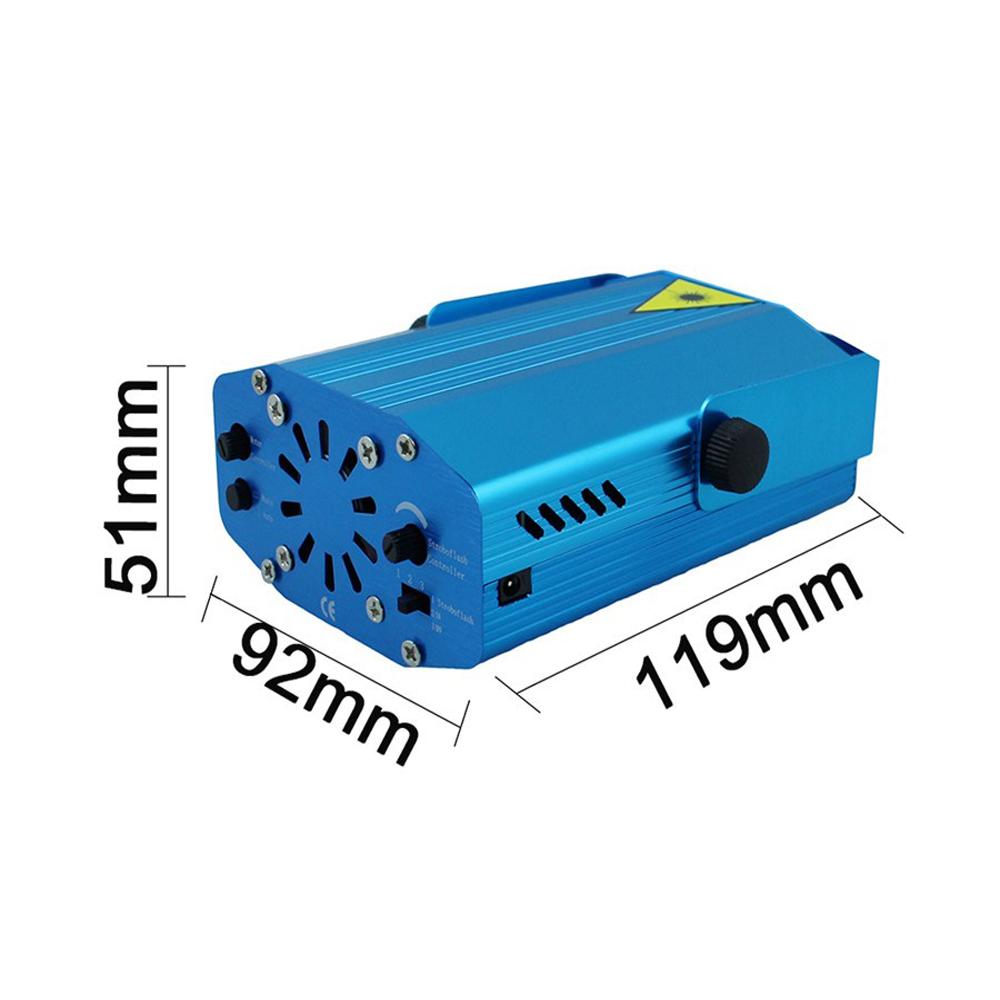 portable mini led laser stage lights projector effect. Black Bedroom Furniture Sets. Home Design Ideas