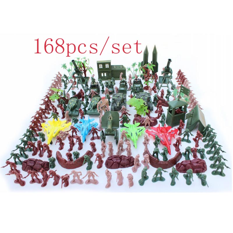 Soldier Set Cowboy scene model military forces soldiers were children's toys soldier trooper commando 168pcs/set Gifts Children(China (Mainland))