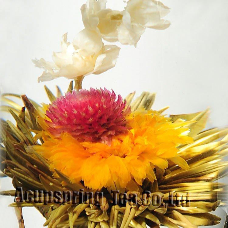 120pcs blooming flower tea, flower tea, A3CK14, Free Shipping<br><br>Aliexpress