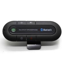 2016 High Quality Wireless Bluetooth Slim Magnetic Handsfree Car Kit Speaker Phone Visor Clip Free Shipping