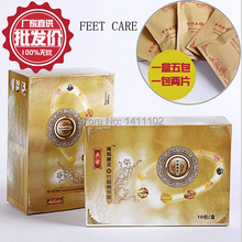 10Pcs 2015 Softcover Detox Foot Patch Detox Patches Detoxification Improve Sleep Slimming Feet stickers Foot Care Free Shipping