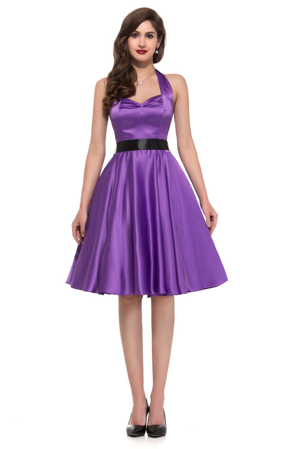 Purple Dresses For Women - Dress Xy