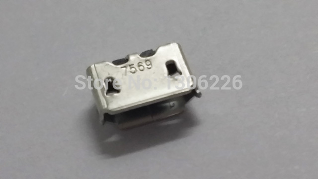 Original Brand new Micro USB Charger Charging Port Connector for BlackBerry 8520 Curve 9700(China (Mainland))