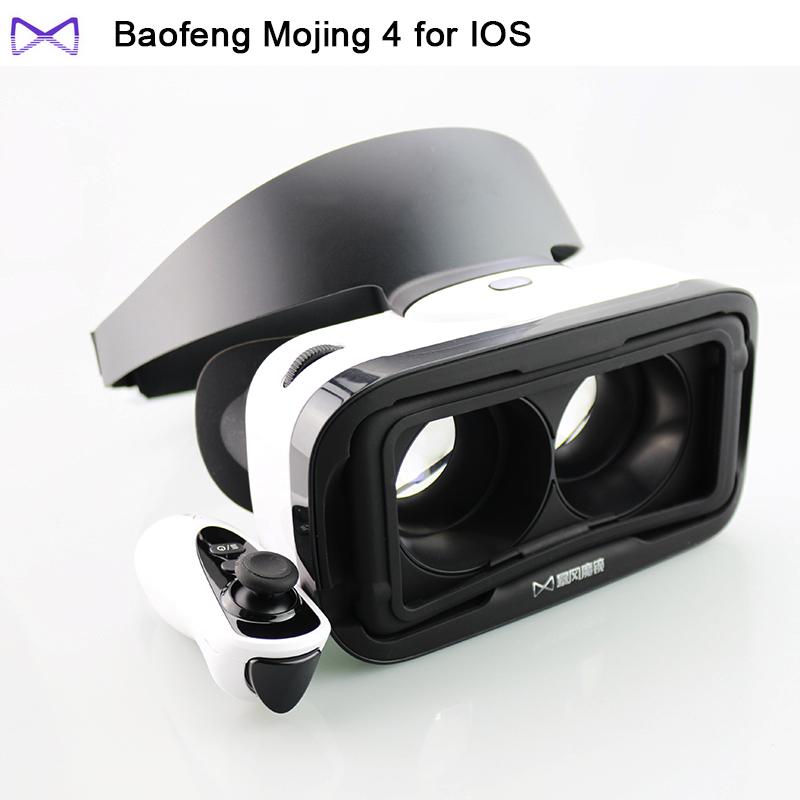 baofeng mojing 4 Virtual Reality Smartphone 3D VR Glasses Headset Google Cardboard Oculus Rift Head Mount VRBOX for Iphone(China (Mainland))