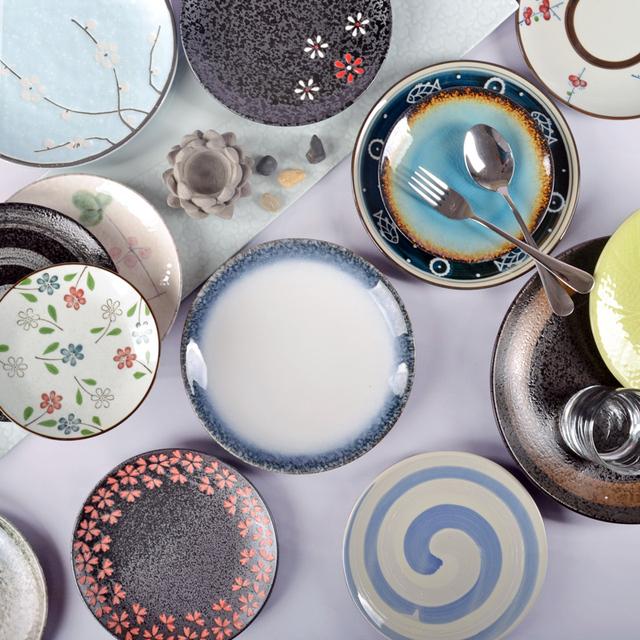 Горячая диск японский посуда плоскости пластины новый салат стейк диск и диск специальное предложение ветер пластины