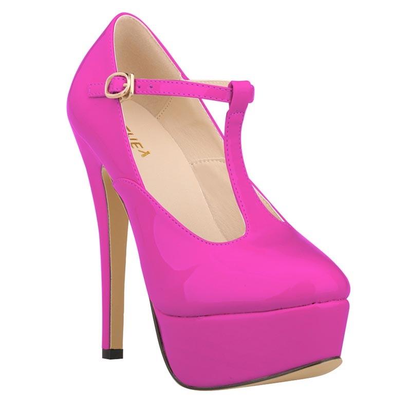 2016 Size 35-42 Fashion Sexy High Heels Women Pumps Ladies Platform Shoes Woman Chaussure Femme Zapatos Mujer sapato feminino