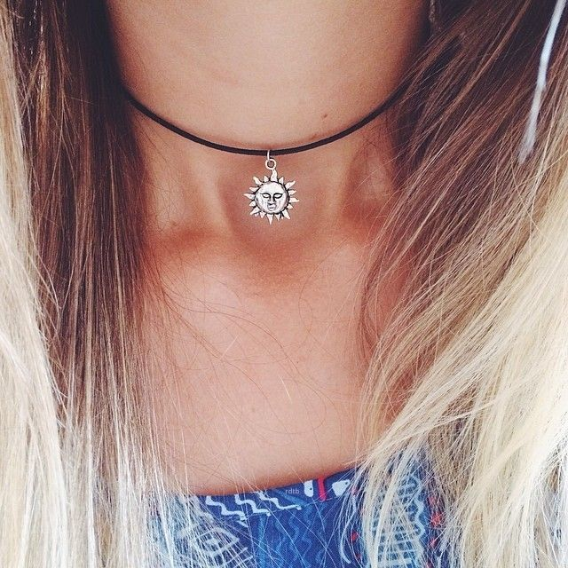 bijoux Antique silver plated sun flower chokers necklace collar necklace pendant short necklace 2014 free shipping(China (Mainland))