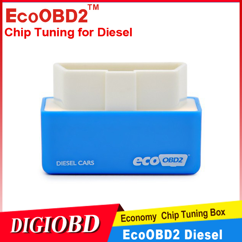 2015 EcoOBD2 Diesel Cars Chip Tuning Box Plug and Drive OBD2 Economy Chip Tuning Box Lower Fuel and Lower Emission 15% fuel save(China (Mainland))