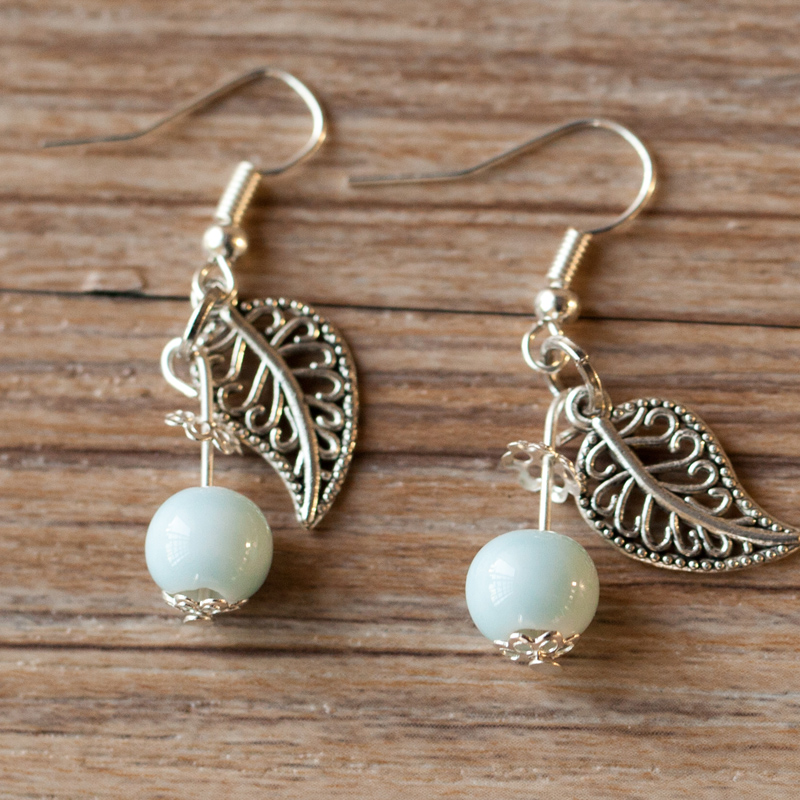 Ceramic Drop Earrings,Fashion Dangle Earrings New Jewelry Accessory Wholesale For Women Girls(China (Mainland))