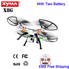 Brand UAV Professional SYMA X8G Headless Mode 2.4GHz 6 Axis RC Helicopter Camera Drone with 8.0MP Camera 3D Roll Drones