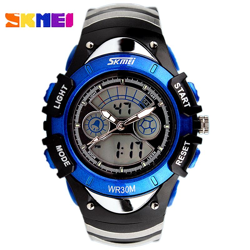 Watch Children SKMEI fashion Casual waterproof boys girls Digit LED watches Outdoor sport Students Wristwatches gift kids 0998(China (Mainland))
