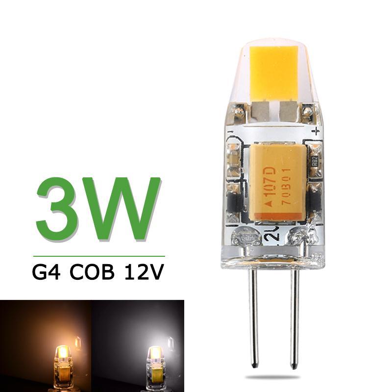 NEW Mini G4 LED Bulb 3W AC/DC 12V Dimmable LED G4 COB Lamp Light Lampada LED High Quality G4 LED COB Light Replace Halogen <br><br>Aliexpress